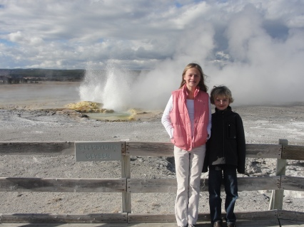 Geysers and hot springs galore