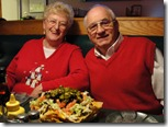 Mom, Dad and a lot of nachos...