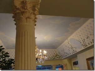Grecian Pillars - Italian Renaissance painting