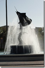 Sailfish fountain