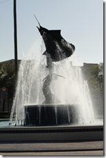 Sailfish fountain