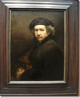 Rembrandt's Self Portrait
