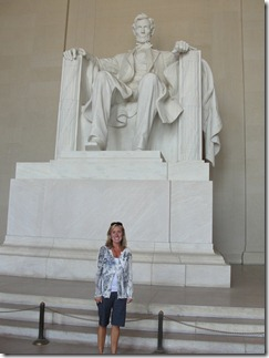"Abe and me ""having a moment"""