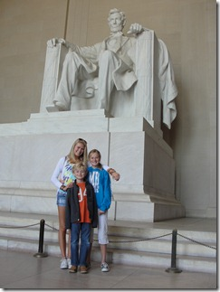 Abe and our kids